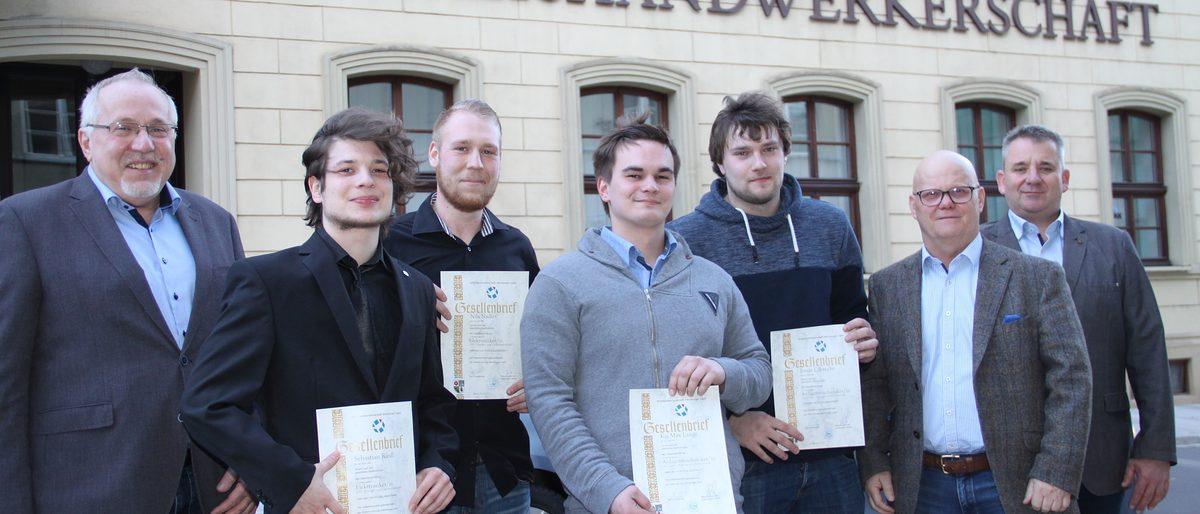Klasse Statt Masse Altenburger Handwerk Mit Neuem Fachkraftenachwuchs Handwerkskammer Fur Ostthuringen